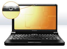 Netbook Lenovo Ideapad S10e:  Großer Bildschirm, kompaktes Gerät