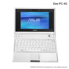 Netbook Asus Eee PC 4G (Foto: Asus)