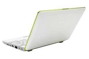Auf der CeBIT gezeigt: Das neue LG X 120 Netbook