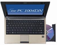 Erwachsen: Asus Netbook EEE PC 1004 DN mit optischem Laufwerk