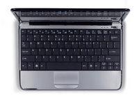 Das Acer Aspire One 751 Netbook mit großer Tastatur
