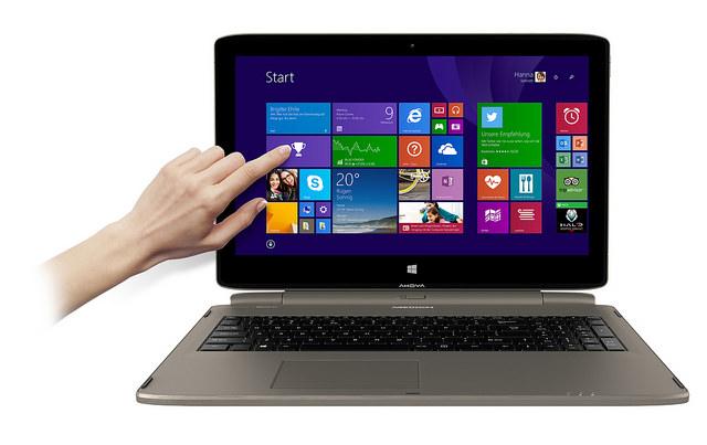 Medions Neues: Notebook und Tablet – endlich vereint!