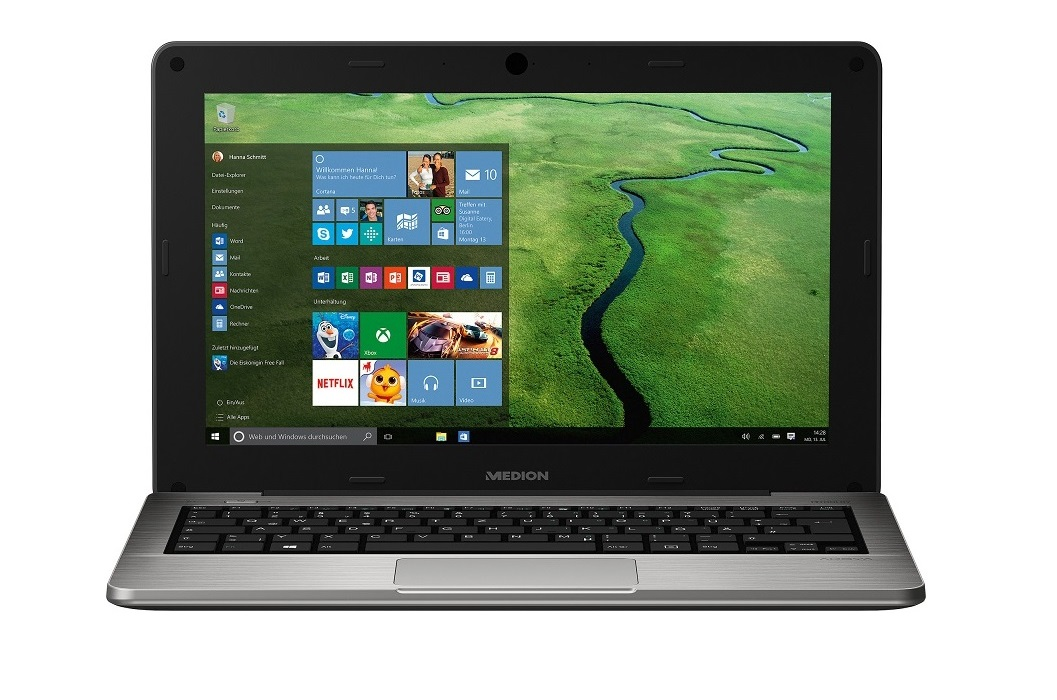 Medion Akoya S2218 – Das Netbook mit Windows 10