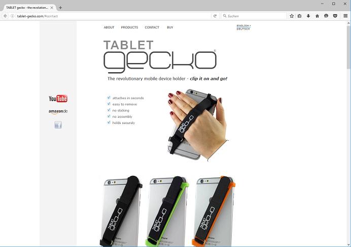 Smartphone & Tablet sicher in der Hand – Tablet Gecko macht's möglich