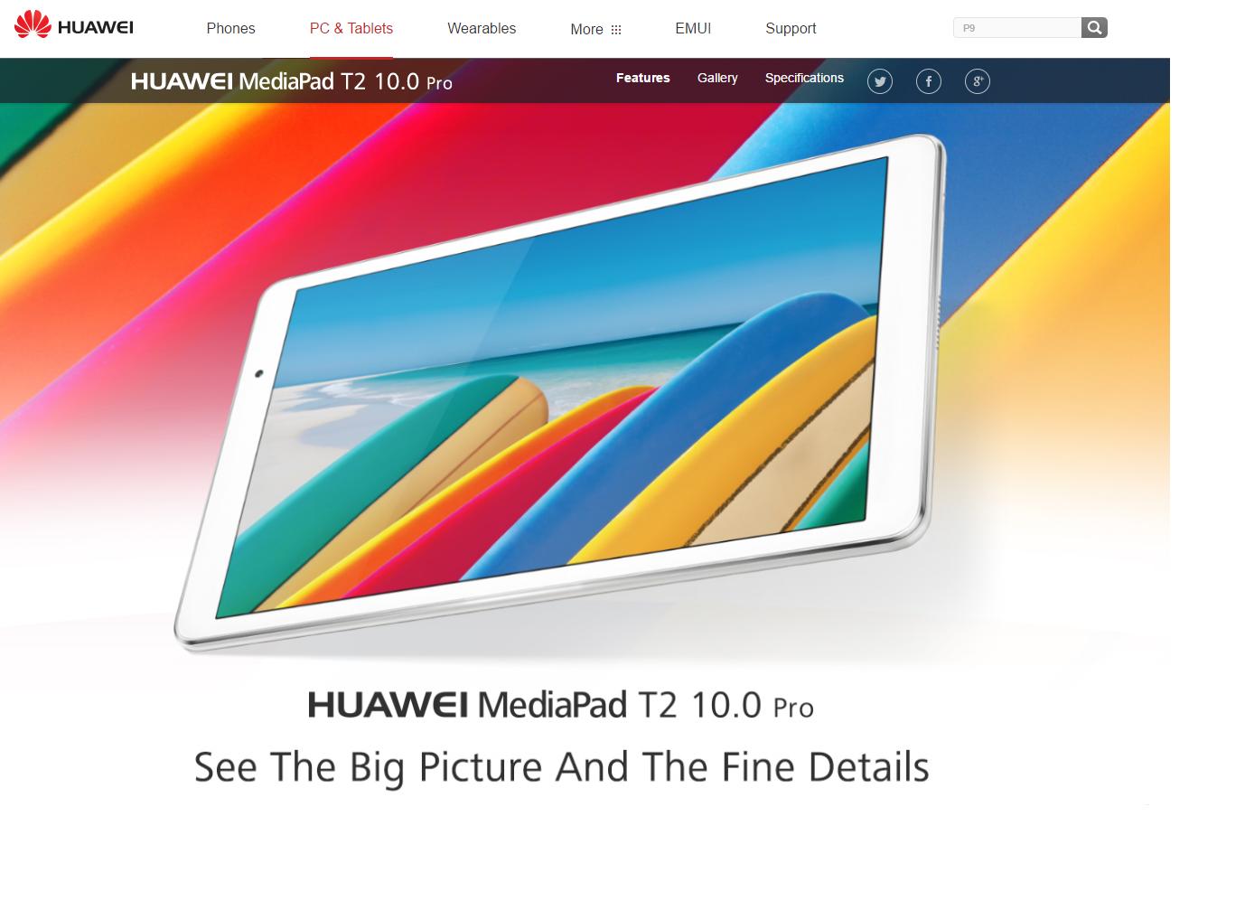 Vorgestellt: Das Huawei MediaPad T2 Pro
