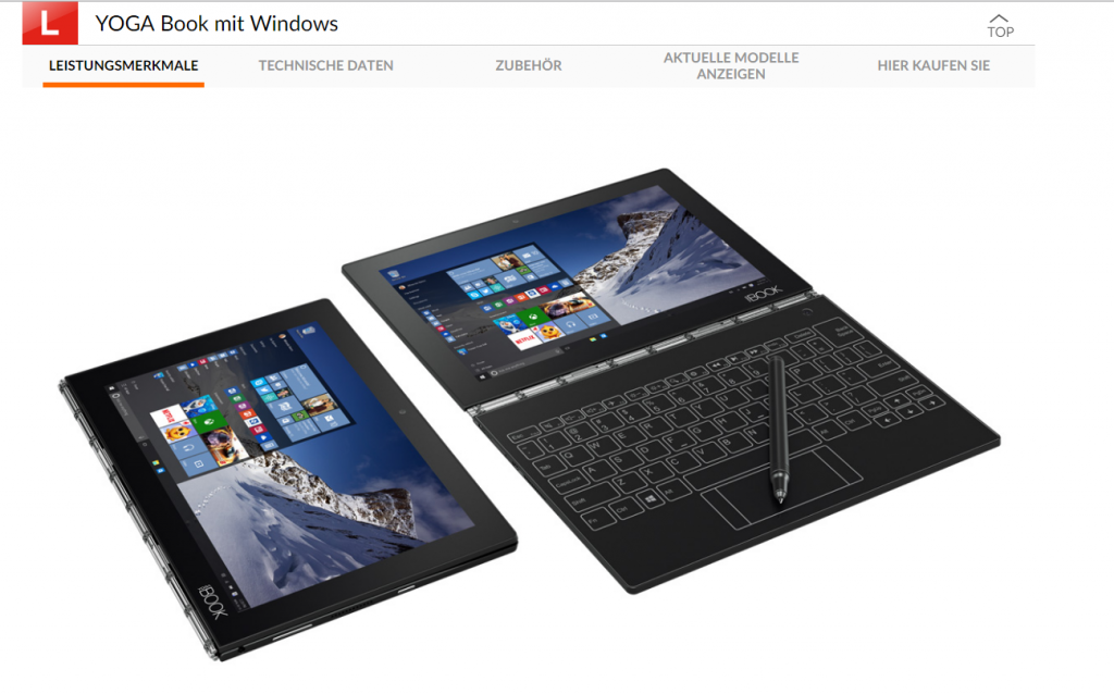 Lenovo yoga book_Screenshot