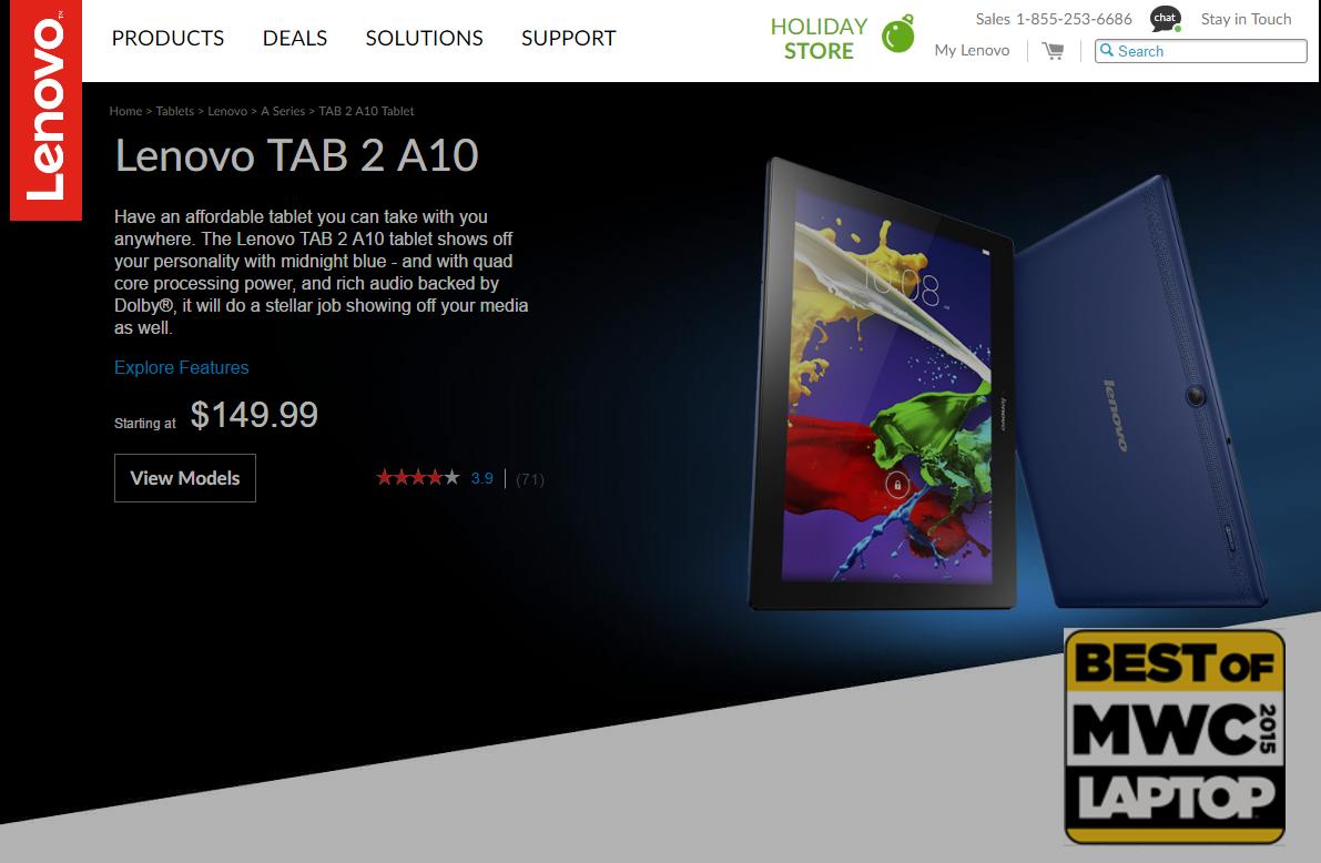 Lenovo Tab 2 A10-70: Gutes Bild, toller Sound