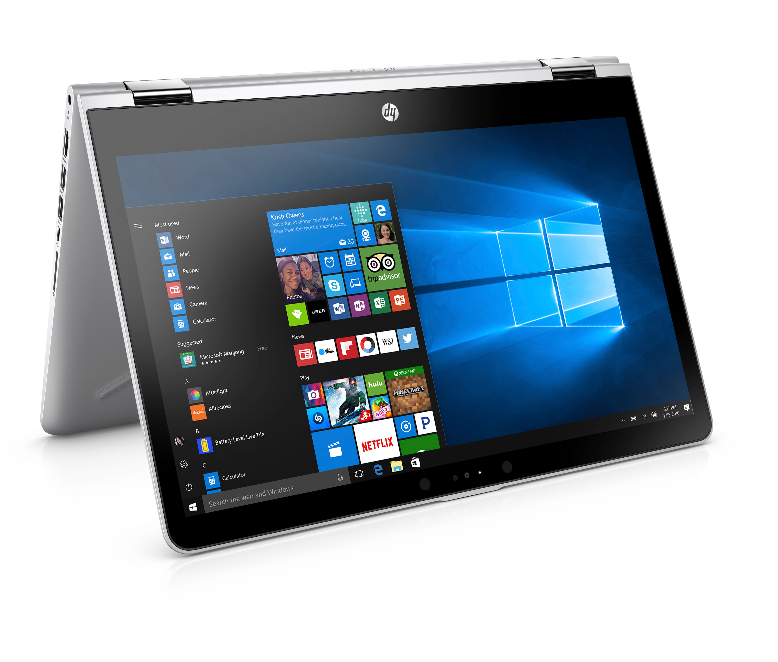 HP Pavilion x360: Stifte raus – Diktat!