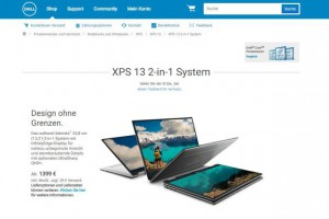 Dell XPS 13 2-in-1: Aus Ultrabook wird Tablet